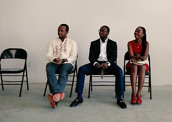 Mr. Bankole Cardoso speaking on a panel at SwitchPoint Conference 2015