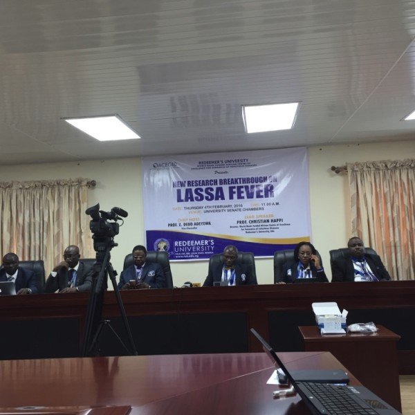 African Center of Excellence for Genomics of Infectious Diseases (ACEGID) event on their Lassa fever research breakthrough