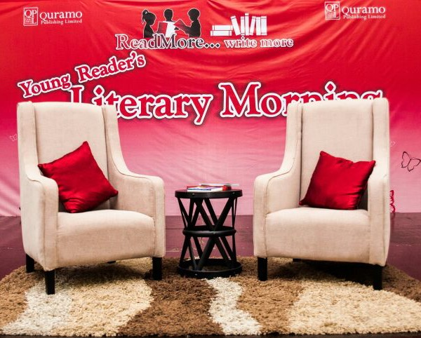 Stage at Young Reader's Literary Morning