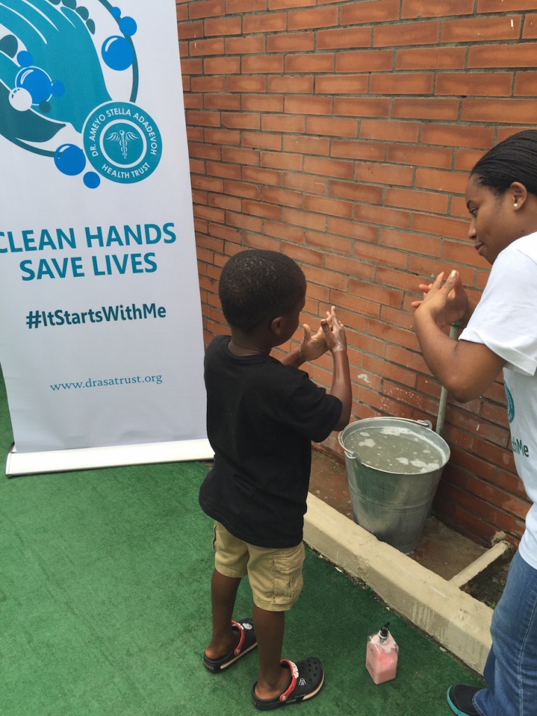 The Mustard Seed Centre Handwashing