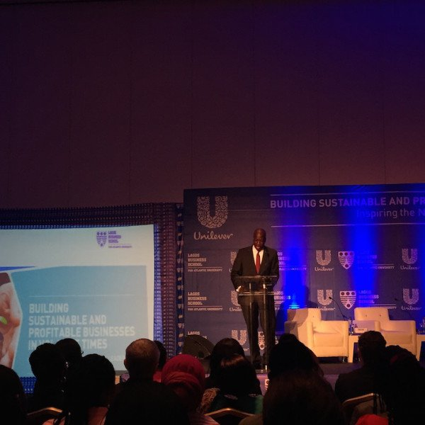 Unilever Nigeria's Managing Director, Mr. Yaw Nsarkoh