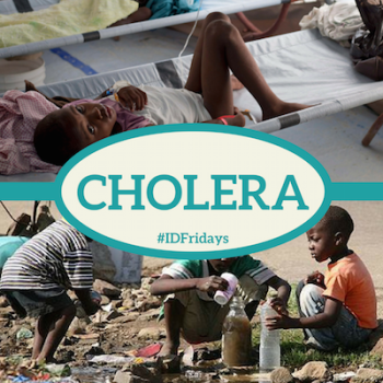 #IDFridays Week 27: Cholera: https://www.drasatrust.org/cholera/