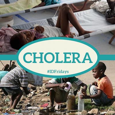 #IDFridays: Cholera