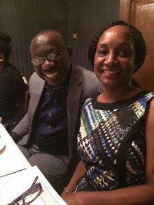 Dr. Ernest Madu and DRASA's Deputy Chairman