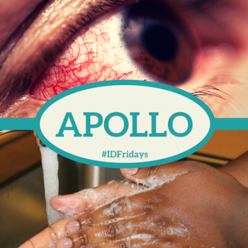 #IDFridays Week 36 Conjunctivitis: https://www.drasatrust.org/apollo/