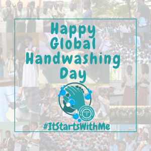 Happy Global Handwashing Day 2016
