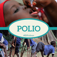#IDFridays Week 35 Polio: https://www.drasatrust.org/polio/