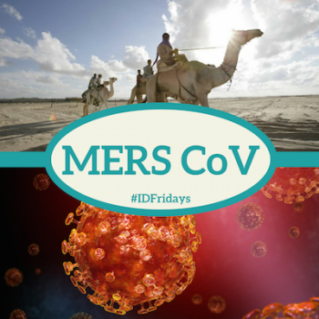 #IDFridays Week 42 MERS-Cov: https://www.drasatrust.org/merscov/