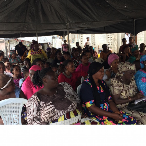 Female leaders in Obalende