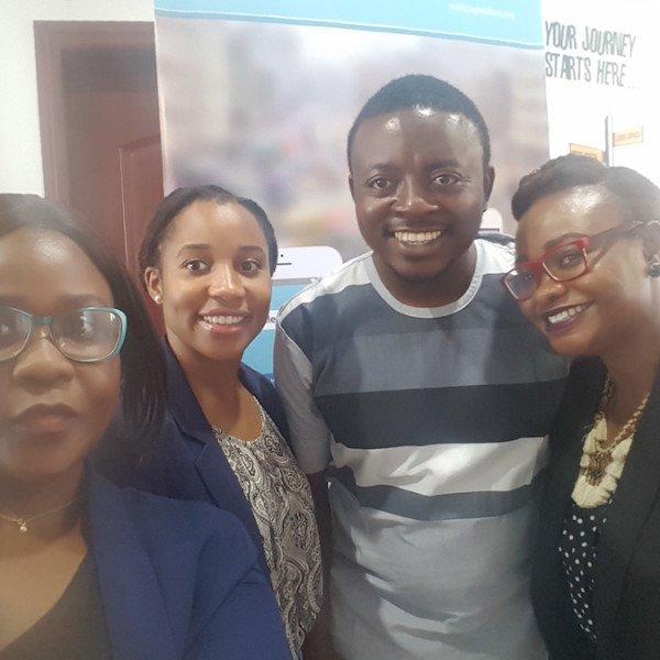 Dr. Bakare and the DRASA Team