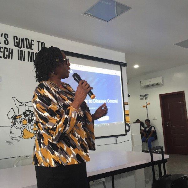 Prof. Sade Ogunsola, University of Lagos College of Medicine