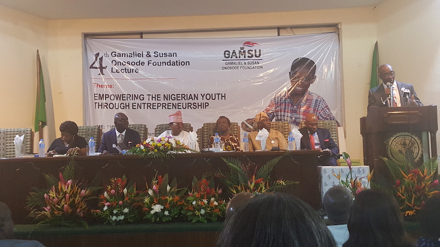 Gamaliel and Susan (GAMSU) Onosode Foundation's 4th Annual Lecture