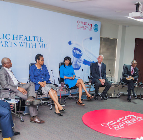 Dr. Olumide Okunola, Dr. Jide Idris, Mrs. Fola Laoye, Dr. Joan Benson, Dr. Glen Gaulton, Prof. Muyiwa Odusanya, Dr. Lolu Ojo