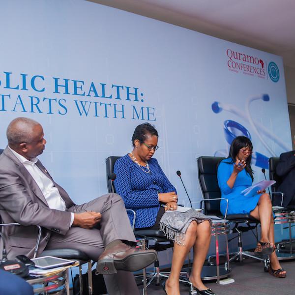 Panelists: Dr. Jide Idris, Mrs. Fola Laoye, Dr. Joan Benson