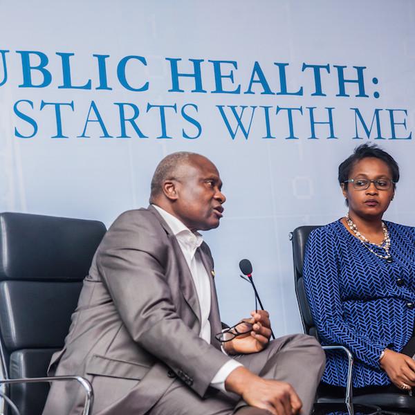 Panelists: Dr. Jide Idris, Mrs. Fola Laoye