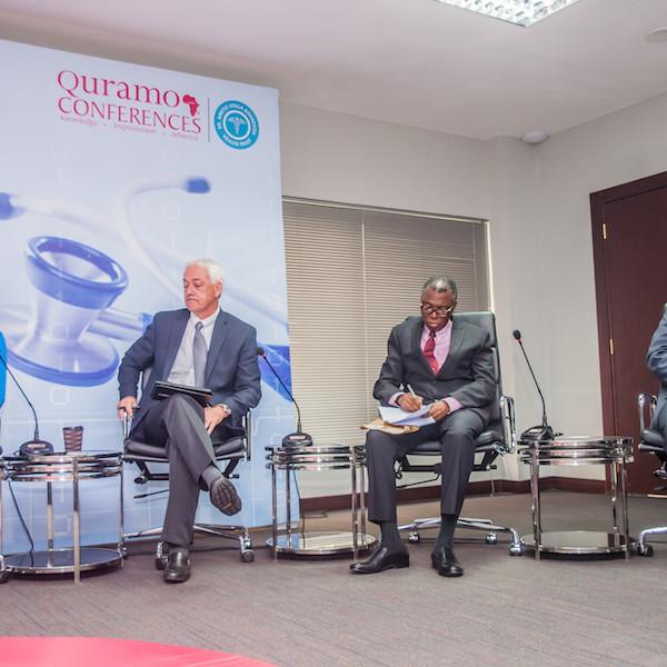 Panelists: Dr. Joan Benson, Dr. Glen Gaulton, Prof. Muyiwa Odusanya, Dr. Lolu Ojo