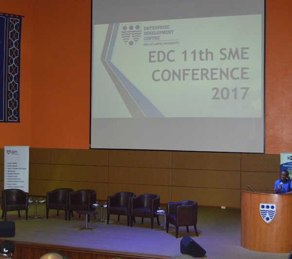 Opening the Enterprise Development Centre's Annual SME Conference
