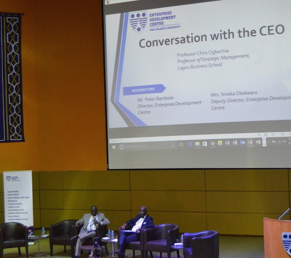 Enterprise Development Centre: Annual SME Conference Conversation with the CEO