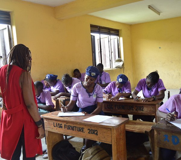 DRASA Ambassadors completing questionnaires
