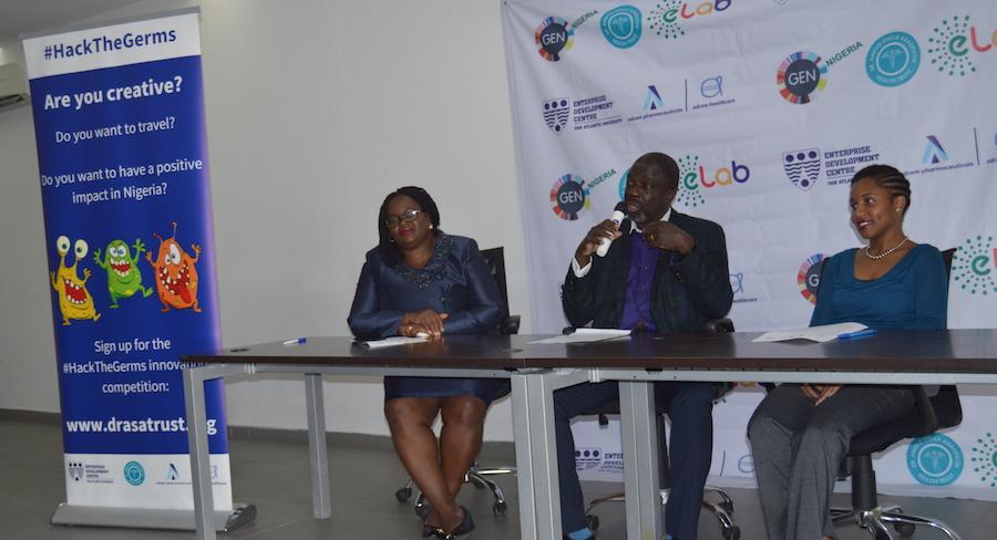 Mr. Adeyemi Adewole of ADCEM speaking