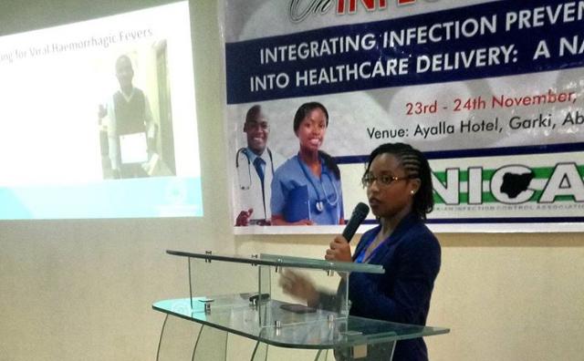 DRASA's MD Niniola Soleye presenting at NCIC 2017