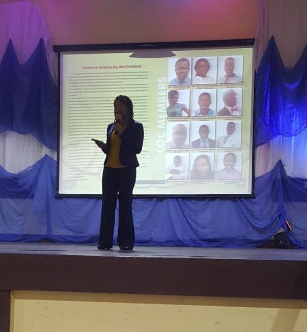 DRASA's MD speaking at LUTH ARD Scientific Conference 2017