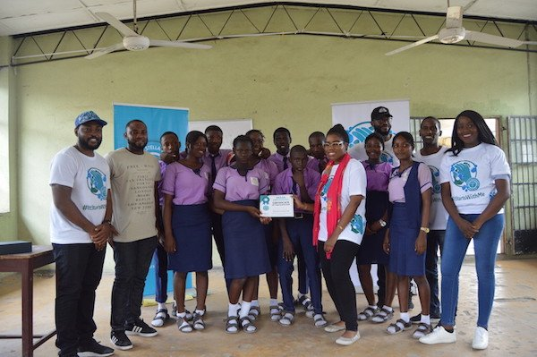 Certificates of participation for the schools that did not win