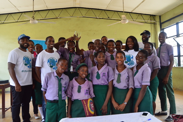 The winning team of DRASA Ambassadors!