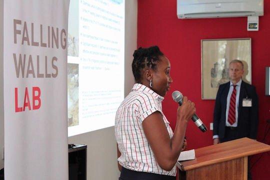 Dr. Agema Agatha presenting