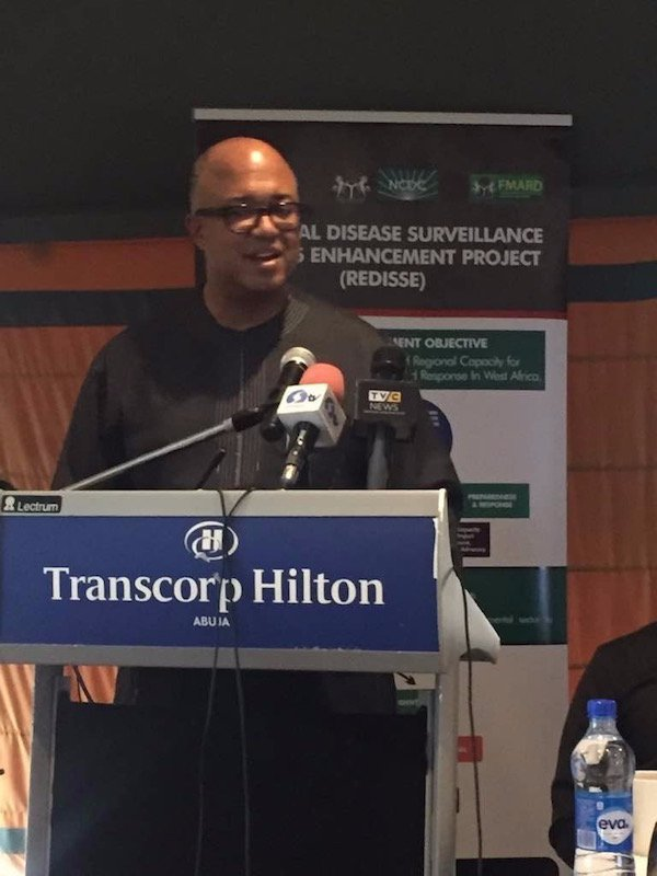 Dr. Chikwe Ihekweazu, National Coordinator/ Chief Executive Officer of the Nigeria Centre for Disease Control (NCDC)