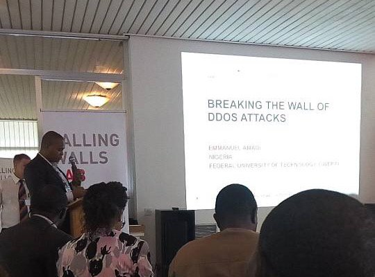 Falling Walls Lab Lagos Pitch