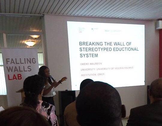 Falling Walls Lab Lagos Pitch