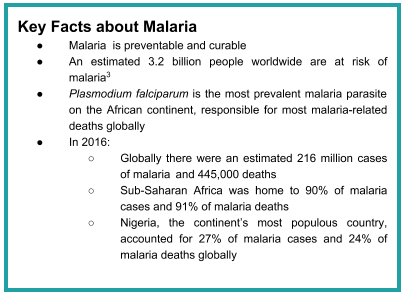 Key Facts About Malaria