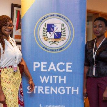 Lauretta Ovadje and Praise Adeyemo representing DRASA