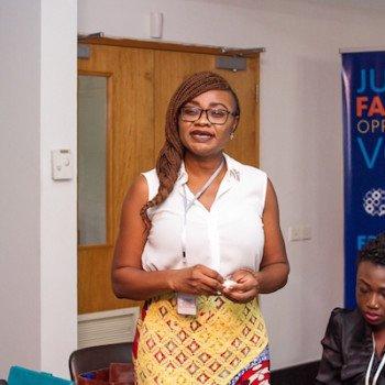 DRASA's Program Coordinator Dr. Lauretta Ovajde