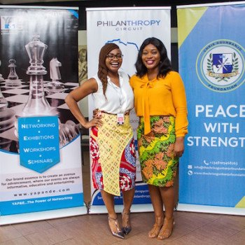 Lauretta Ovadje of DRASA and Founder of CancerAware, Tolu Falowo
