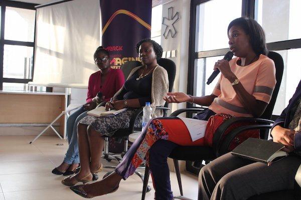 Panel at the Merck eHealth Meetup in Lagos