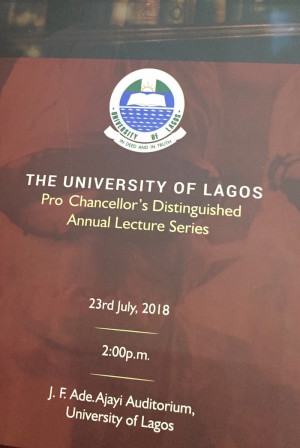 UniLag Pro-Chancellor's Lecture