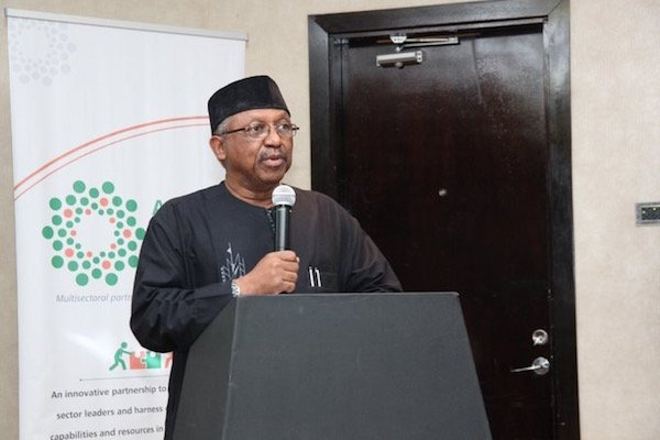 Honorable Minister of State for Health Dr. Osagie Ehanire
