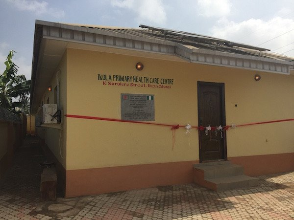 Launching the Rehabilitated Ikola Primary Health Centre