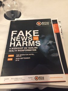Fake News That Harms Public Health