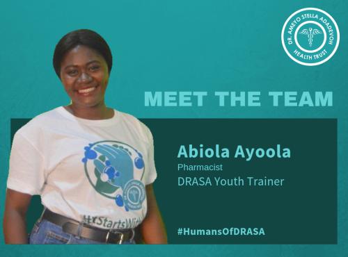 Humans of DRASA: Abiola Ayoola