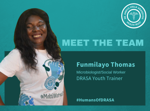 Humans of DRASA: Funmilayo Thomas