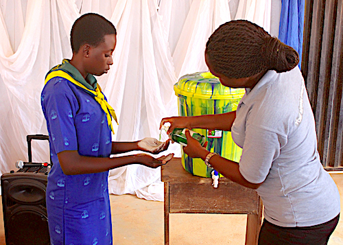 DRASA Union Bank World Savings Day 2018: Handwashing Demonstration