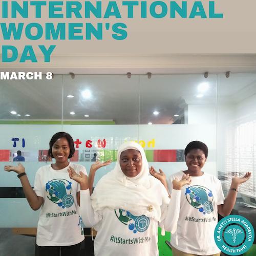 DRASA Team Balancing For Better: International Womens Day 2019