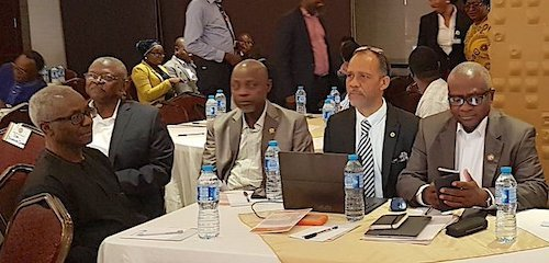 Prof. Oyewale Tomori, Prof. Sunday Omilabu, Prof. Akin Abayomi, Dr. Jide Idris