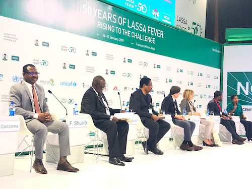 Lassa Fever International Conference Panel