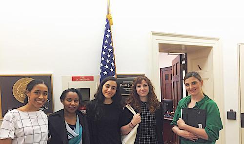 DRASA and advocates outside US Representative David Trone's office