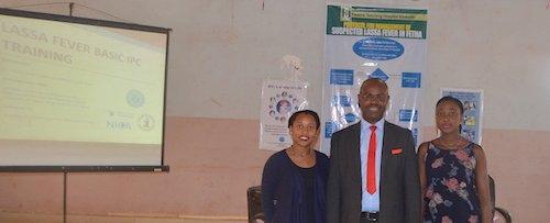 Niniola Soleye, DRASA's Managing Director; Dr. Robinson Chukwudi Onoh, FETHA's Chairman Medical Advisory Committee (CMAC); Dr. Praise Adeyemo, DRASA's Program Associate