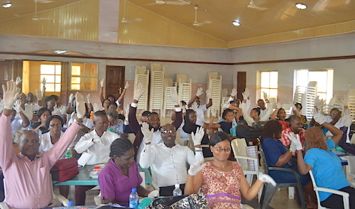 FETHA Ebonyi Lassa Fever IPC Trainees